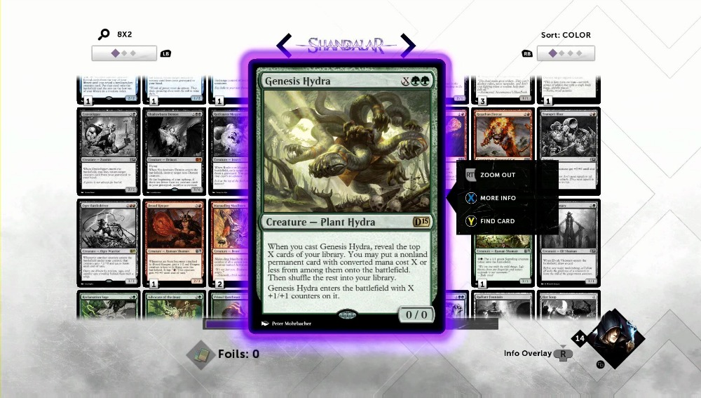 One of the many newly designed cards coming to Magic 2015.