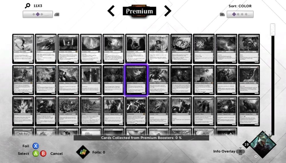 Magic 2015 Premium Cards