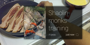Monocle's Google Glass app feeds you Reddit updates like a morphine drip for your eyes
