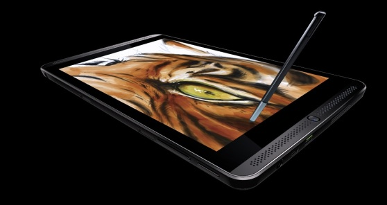 Nvidia Shield Tablet with stylus