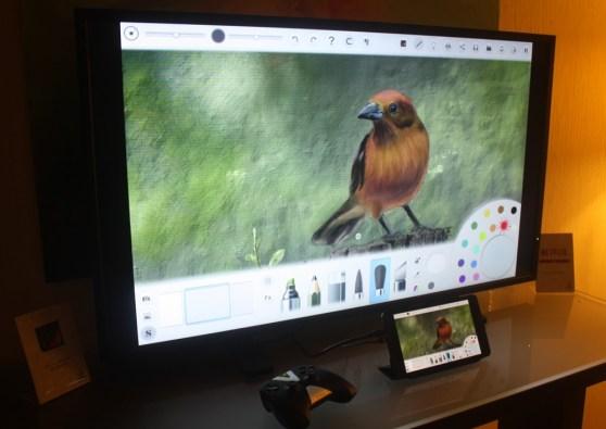 Nvidia Dabbler app on Shield Tablet and TV