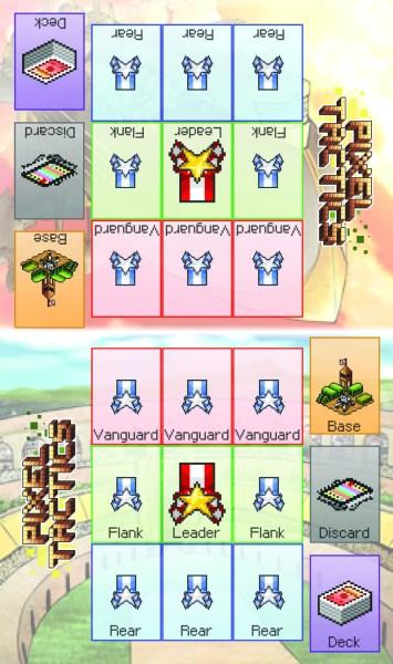Pixel Tactics playmat