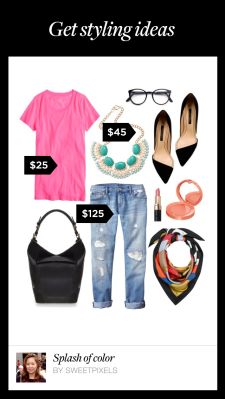 Polyvore App - Styling Ideas