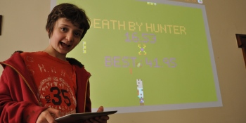 Meet the 12-year-old boy who makes games instead of going to school