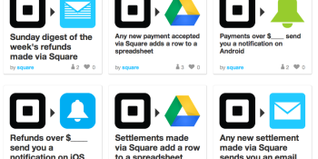 Square launches IFTTT channel, lets your transactions trigger almost anything