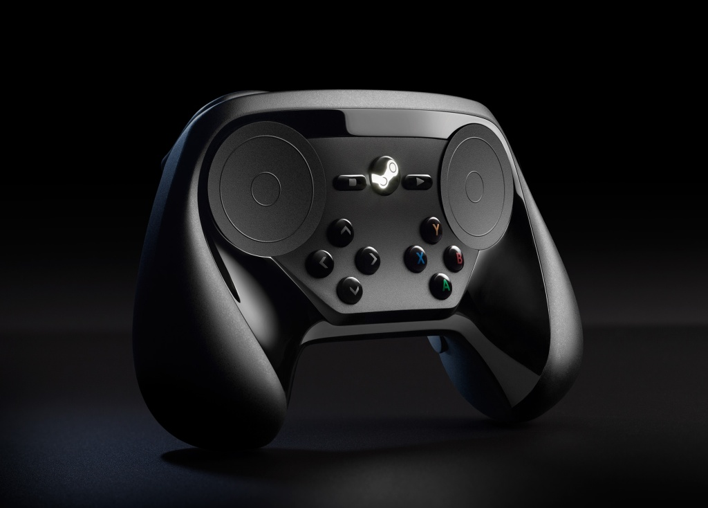 Early revision of the Steam controller.