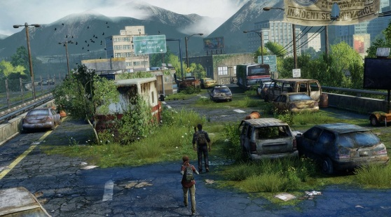 The Last of Us Remastered lets you see for longer distances.