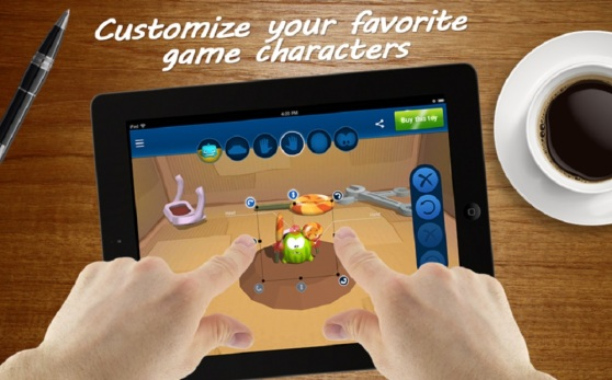 Toyze lets you customize your 3D printed toy with your fingers.