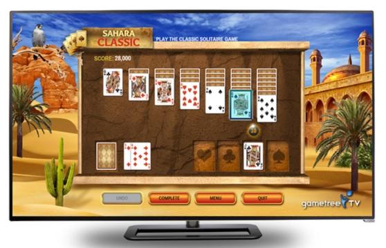 Making smart TVs fun: Casual cloud games come to Vizio's big sceens