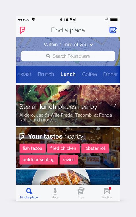 New Foursquare 2