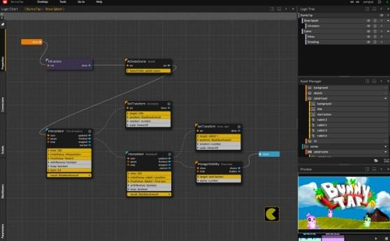 WiMi5 game creation