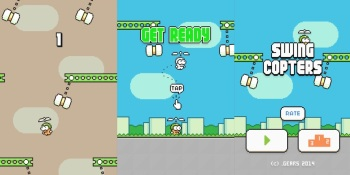 Google Play hammers many Swing Copters clones right off the app market