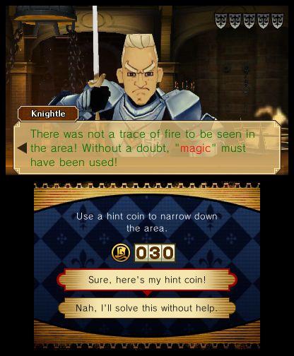 Professor Layton vs. Phoenix Wright screenshot 2