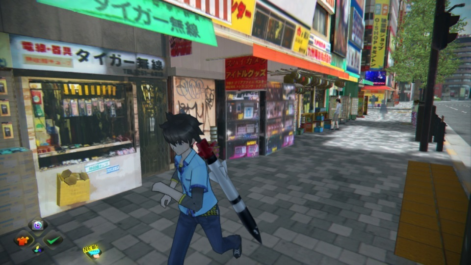 Real-world map and photographic data helped remake the Akihabara district of Japan from the streets up.