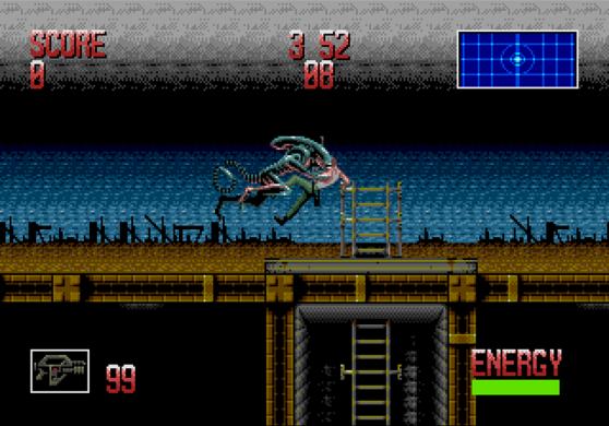 Alien 3 SEGA Genesis Alien Attack