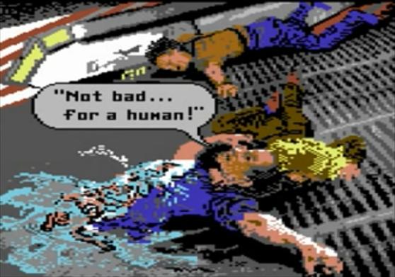 Aliens Commodore 64 cutscene