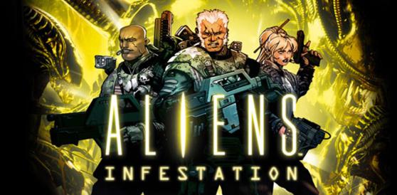 Aliens Infestation Title