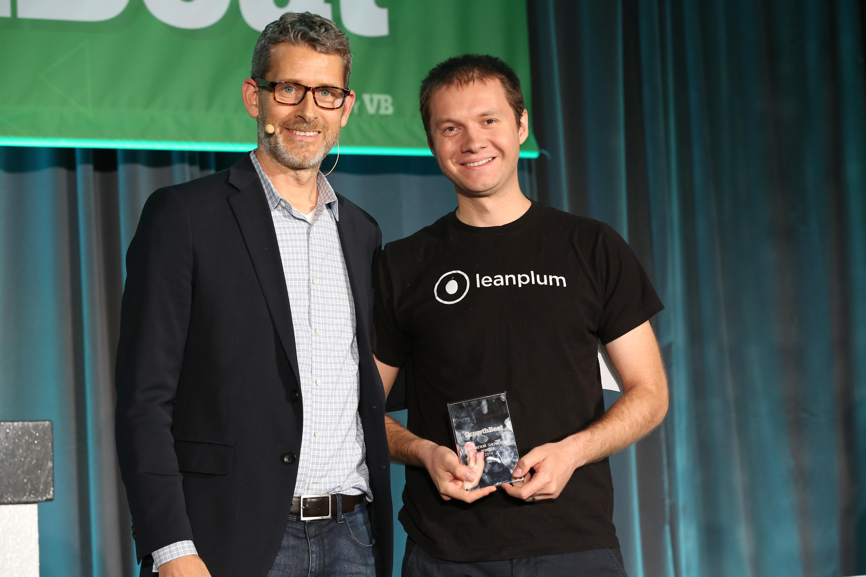 Matt Marshall of VentureBeat, and  Momchil Kyurkchiev of Leanplum