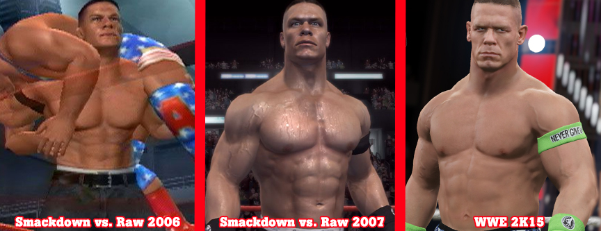 While this is just a cosmetic improvement, it makes goes toward making ...: venturebeat.com/2014/11/17/wwe-2k15s-mycareer-mode-trumps-its-other...