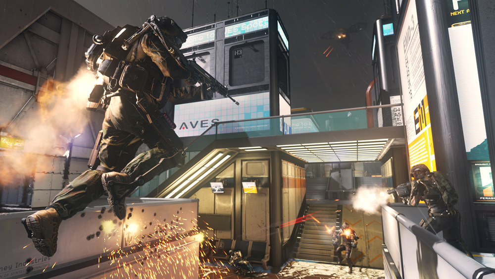 Exoskeletons change the landscape of multiplayer combat in Call of Duty: Advanced Warfare.