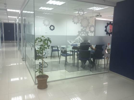 The PinchPoint offices in Ramallah.
