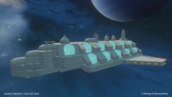 Disney Infinity's Capture Zurg Toy Box level