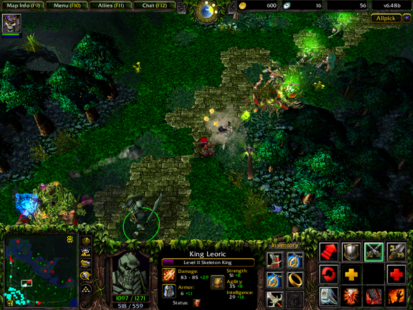 DotA Allstars helped to shape the MOBA genre.