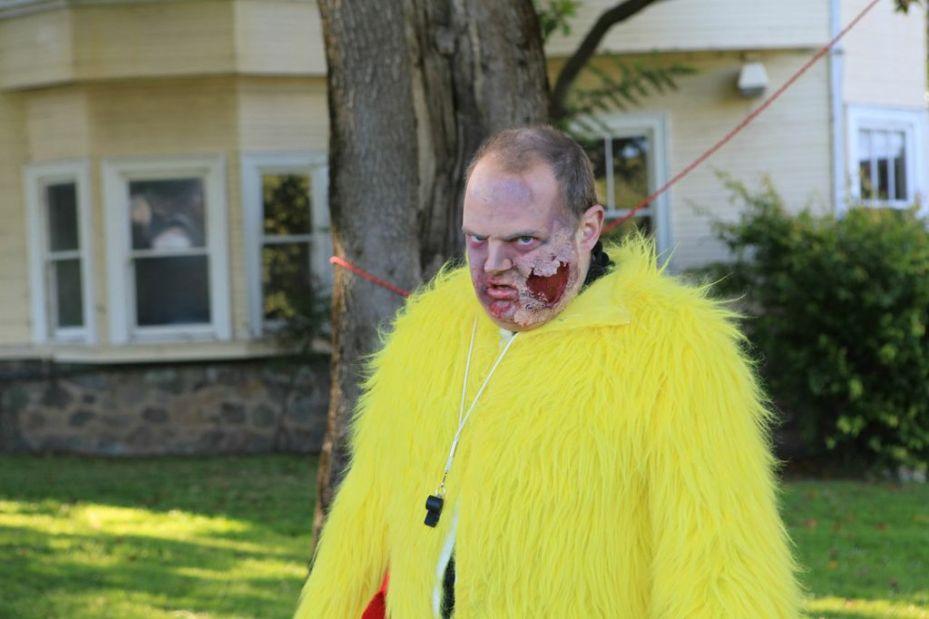 Zombie from Jenny Gottstein Go Games event