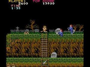 Ghosts n Goblins gameplay