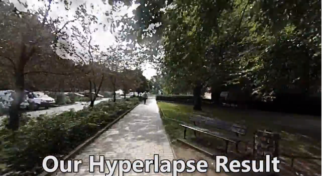 Hyperlapse screenshot