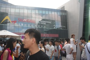 ChinaJoy was a sea of people converging on one spot in Shanghai for five days.
