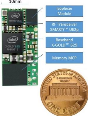 Intel SMARTi transceiver and 3G modem