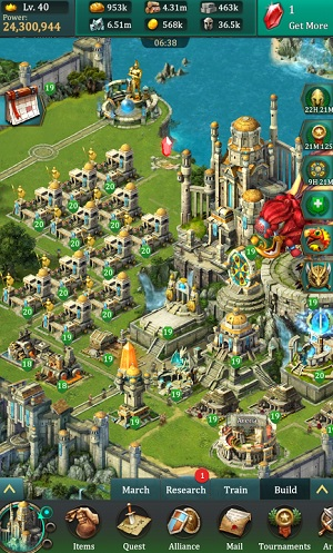 One of Josh Ryan Bass' cities in Dragons of Atlantis: Heirs of the Dragon.