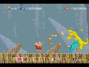 Karnov arcade screenshot