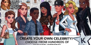 Kim Kardashian crushes the competition for mobile games in July