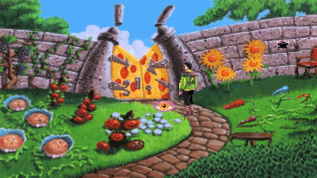 Yeah, parts of King's Quest VI were really trippy.