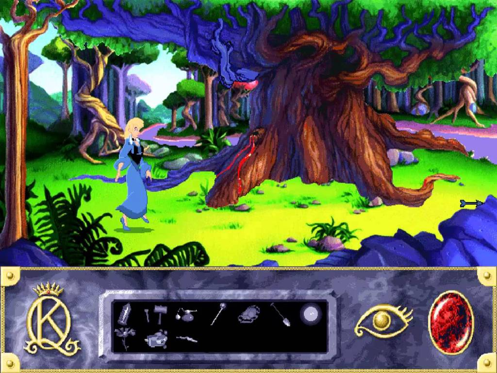 Is this King's Quest or Sleeping Beauty?