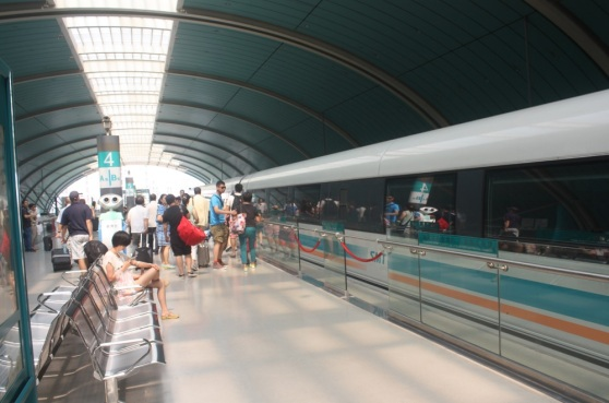 Shanghai's Maglev train