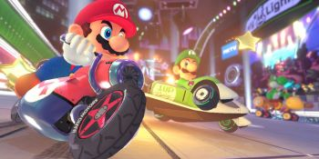 Mario Kart 8 Deluxe on Nintendo Switch runs at 1080p and 60 FPS on TV; 720p/60 FPS in handheld mode
