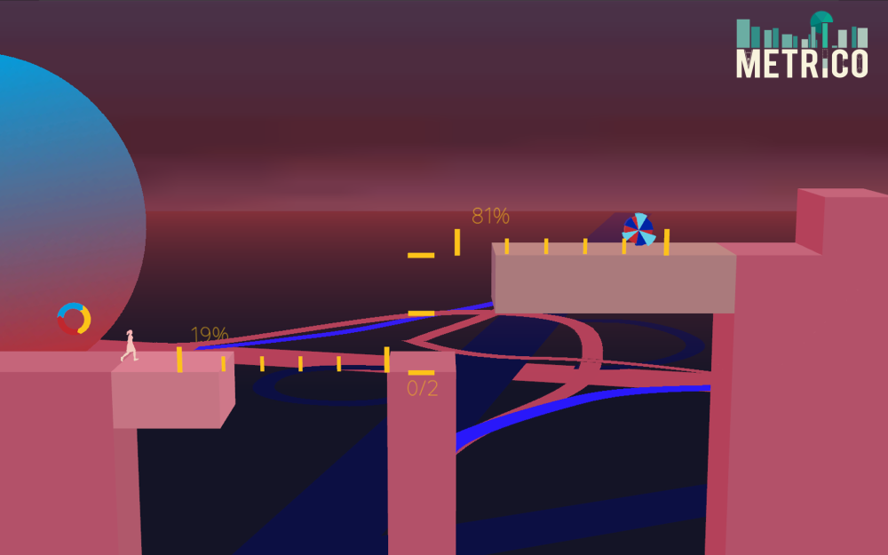 Little remains consistent from one Metrico puzzle to the next.