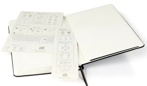 Moleskine Livescribe notebook