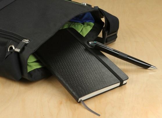 Moleskine Livescribe notebook and smartpen.
