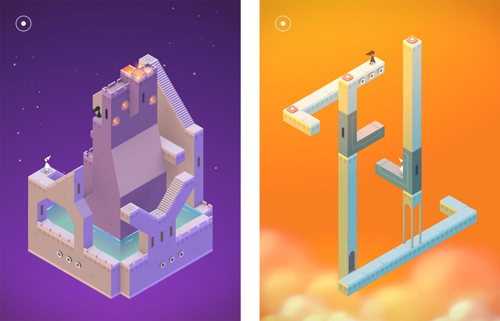 Monument Valley is colorful, easy to control, and satisfying to a wide range of players.
