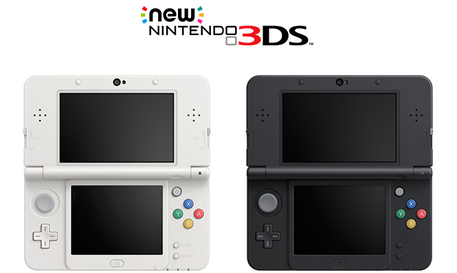 New 3DS has a tiny analog stick above its face buttons.