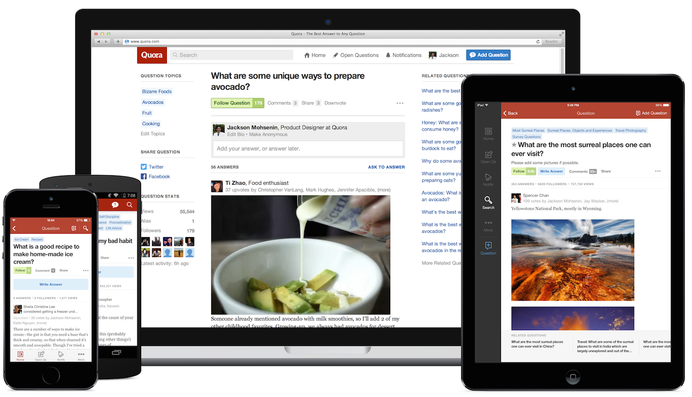 Quora now has 100 million monthly visitors, up from 80 million in
