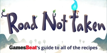 Road Not Taken: Here is a guide to every recipe in the game