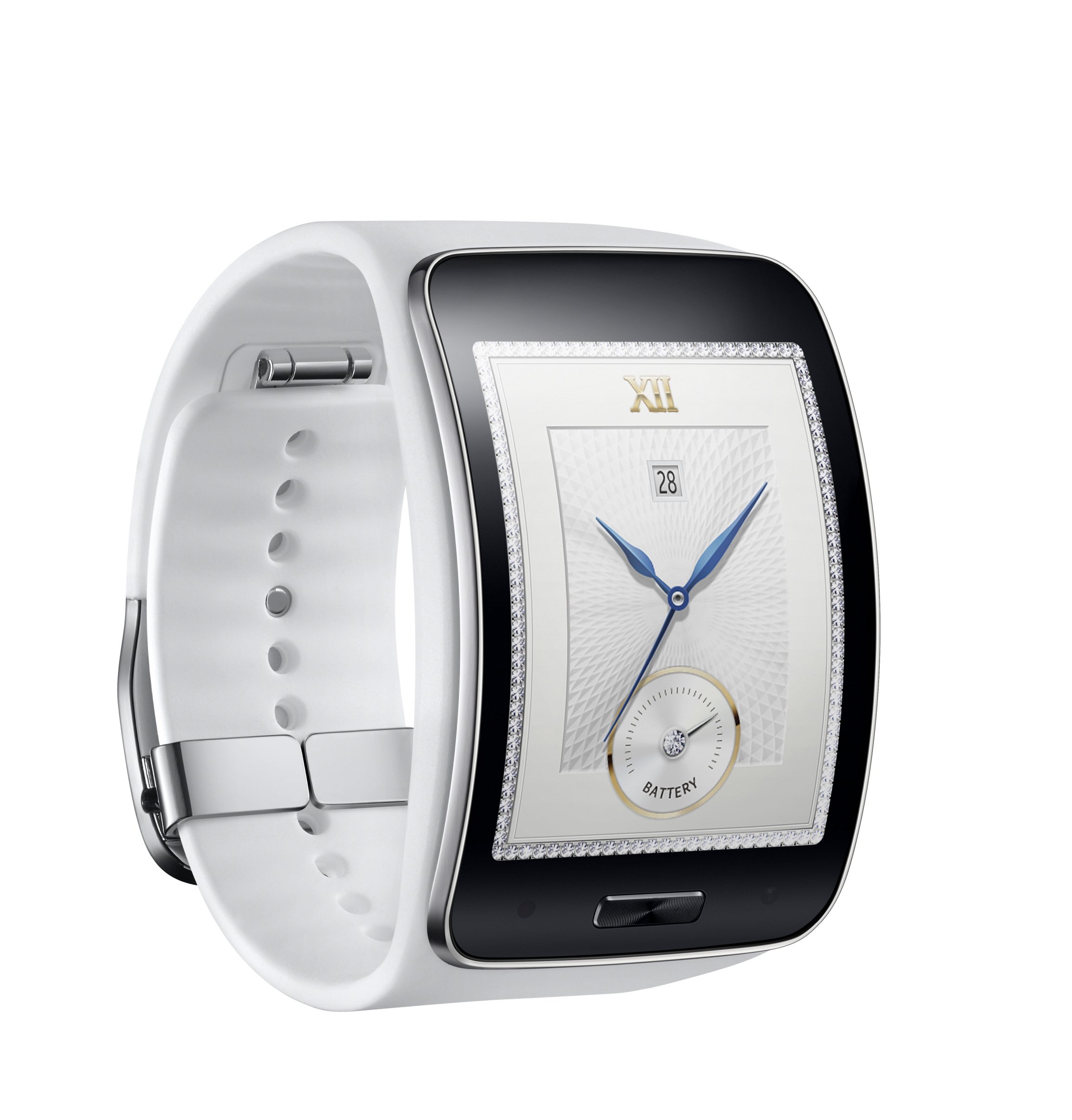 Samsung announces the Gear S, with curved glass and 3G ...
