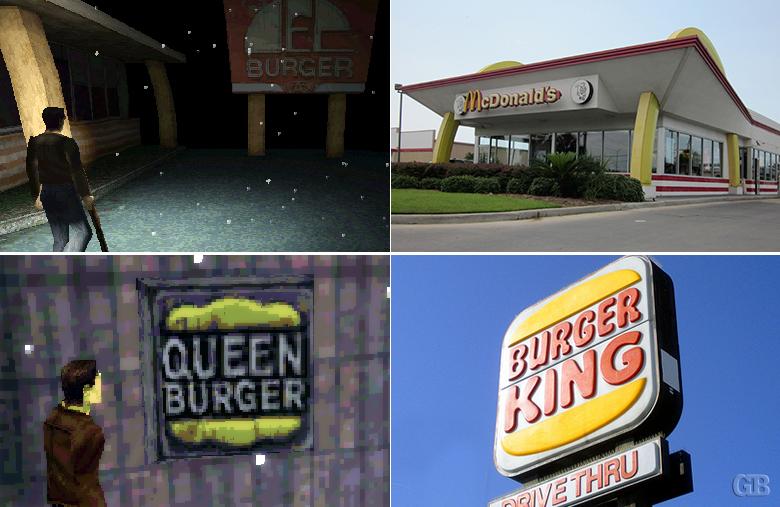 Silent Hill fast food