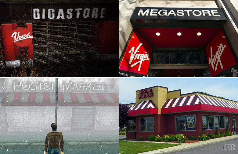 Silent Hill stores