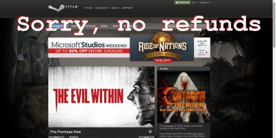 Steams no refunds policy for games under legal challenge in steam refunds ccuart Gallery